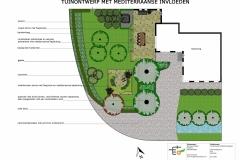 Mediterraanse tuin - Godlinze
